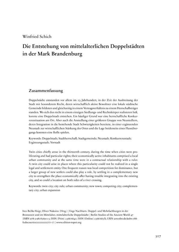 Schich, Winfried