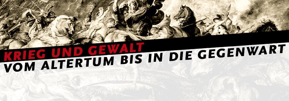 Banner Ringvorlesung Krieg und Frieden | Abbildung: Rubens Amazonenschlacht