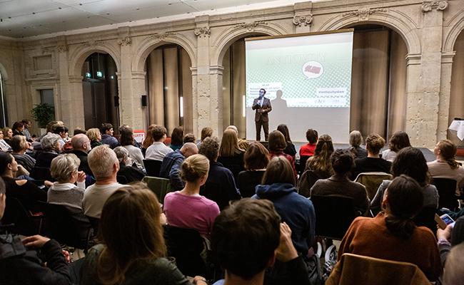 3. Berliner Antiquity Slam / EXC Topoi 2018 / Foto: Juergen Mongenroth