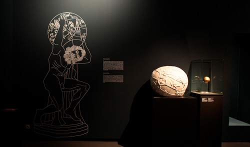 Ausstellung Jenseits des Horizonts / Foto: Dunja Antic / Copyright: EXC Topoi