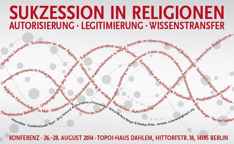 Sukzession in Religionen Poster