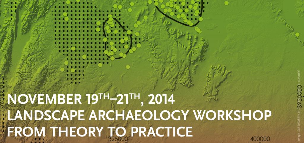 Landscape Archaeology Flyer