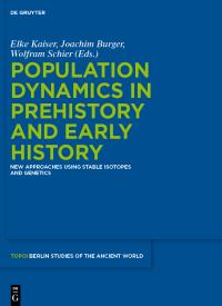 Berlin Studies Vol. 5: Population Dynamics