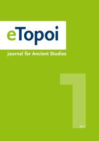 Cover of eTopoi. Volume 1