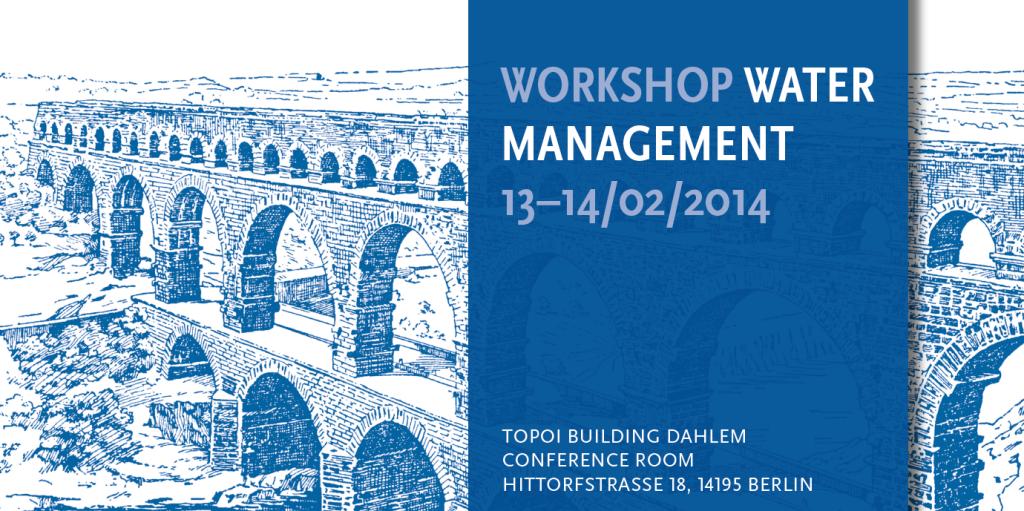 Workshop Watermanagement