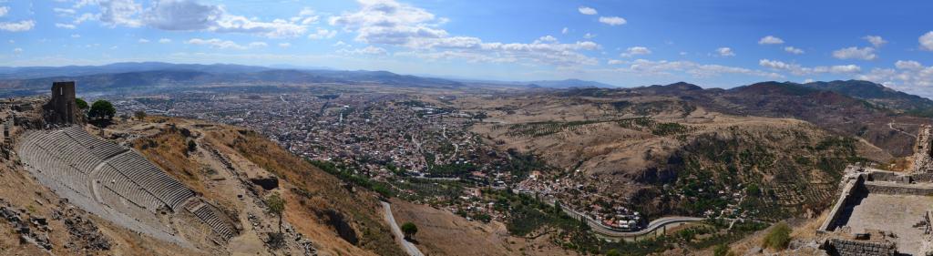 Panorama of Pergamon |Photo: Octavian1311 CC BY 4.0
