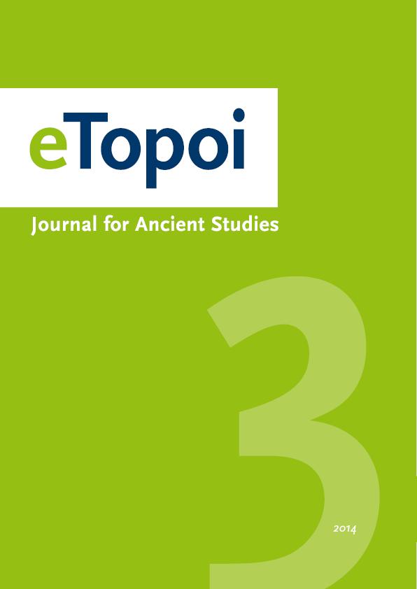 eTopoi. Volume 3