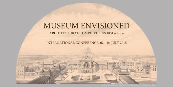 Museum Envisioned | Iamge: Wettberwerb Museumsinsel Berlin (1883/84), Entwurf Schmidt und enckelmann, Copyright: Architekturmuseum Berlin