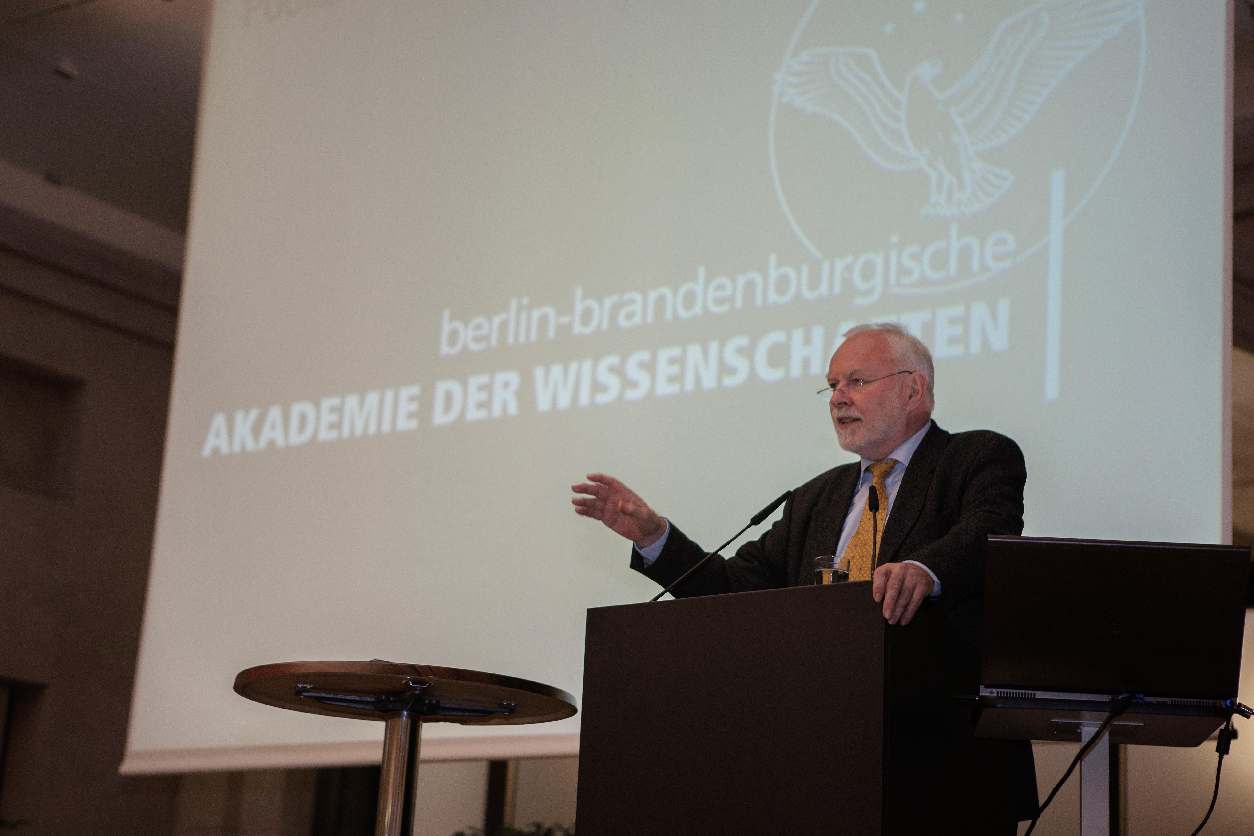 Martin Grötschel, Präsident der Berlin-Brandenburgischen Akademie der Wissenschaften