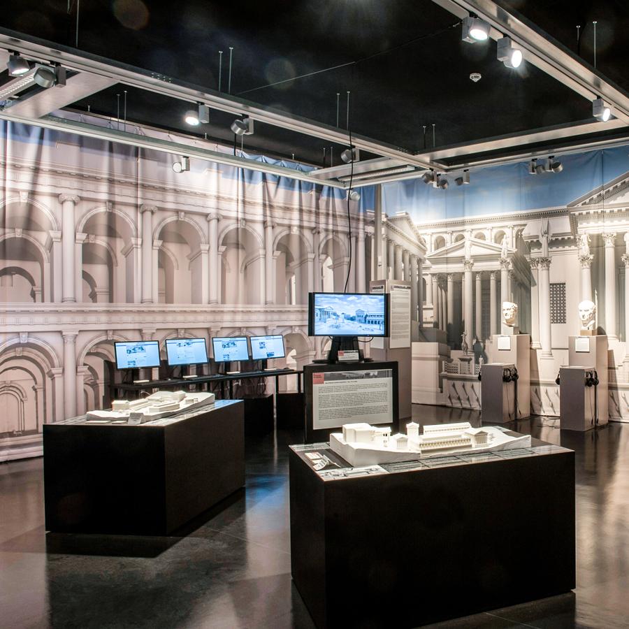 Forum Romanum 3. 0 Ausstellungsraum | Foto: Antonia Weisse
