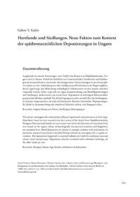 Cover BSA 038 Artikel Szabó