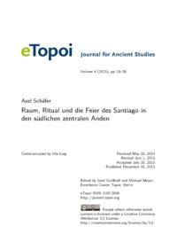Cover Artikel Schäfer eTopoi Volume 4