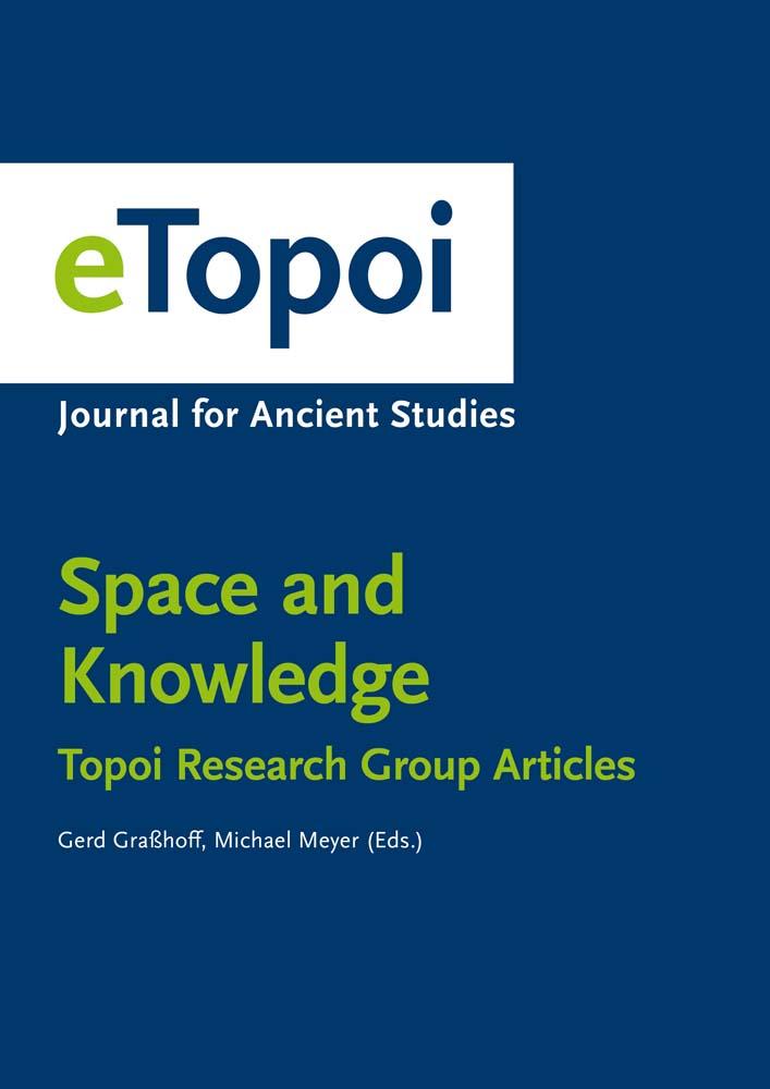 eTopoi. Special Volume 6