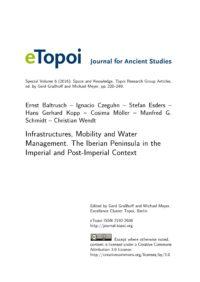 Cover Artikel Baltrusch et al. eTopoi SpV 6