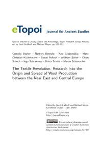Cover Artikel Becker et al. eTopoi SpV 6