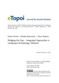 Cover Artikel Knitter et al eTopoi SpV 4