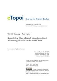 Cover Artikel Kennedy und Hahn eTopoi Vol. 6