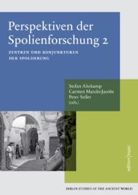 Book cover BSA 40 Stefan Altekamp et al., Perspektiven der Spolienforschung 2