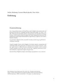 Cover Einleitung_Altekamp et al_BSA 040