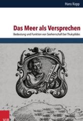 Cover: Das Meer als Versprechen | ©Vandenhoeck & Ruprecht
