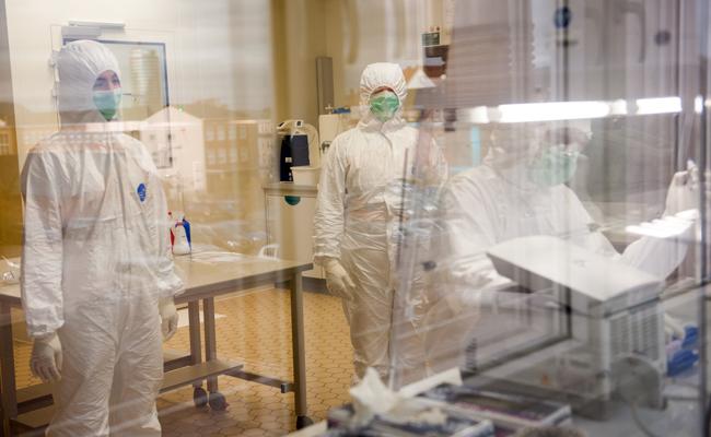 Reinraumlabor Max Planck Institut Max-Planck-Institut für Menschheitsgeschichte Jena | Foto: © 2016 Holger John