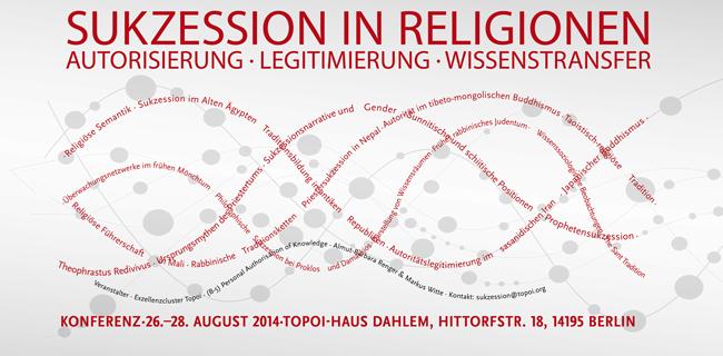 Event Sukkzessionen in Religionen | Flyer