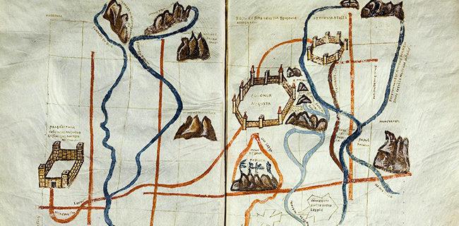 Vatikan, Biblioteca Apostolica Vaticana, Pal. lat. 1564 Agrimensores — Deutschland, 9. Jh. | http://digi.ub.uni-heidelberg.de/diglit/bav_pal_lat_1564/0237