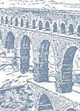 Roman water law / © Pont du Gard, Hutton Webster, Ancient History (Boston, MA: D.C. Heath & Co., 1913), 486