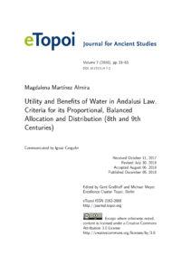 eTopoi Cover Vol 7