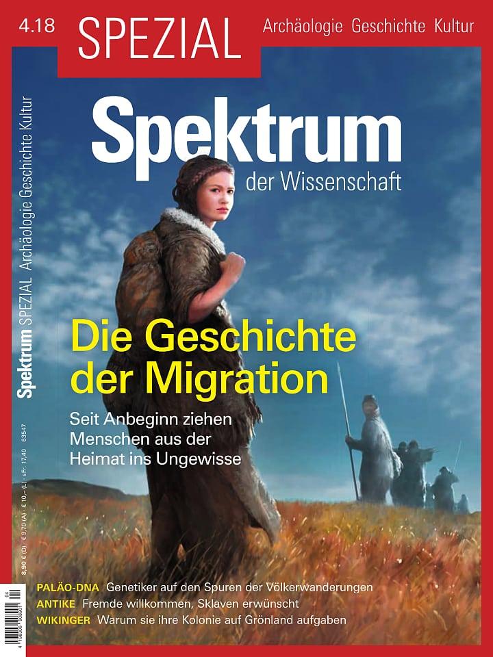 Spektrum der Wissenschaft Spezial 4/2018 Cover